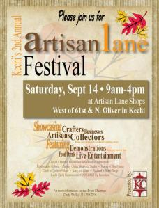 artisan lane flyer